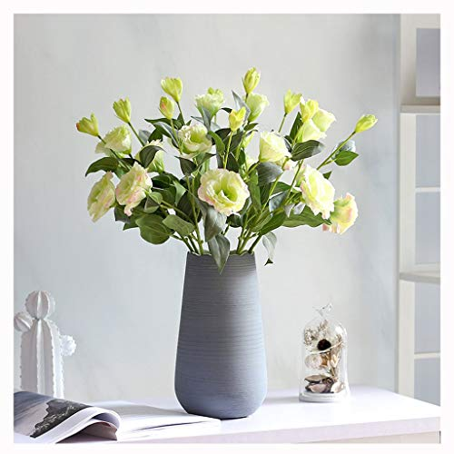 Xiaoli Kunstblumen Künstliche Blumen mit Vase, Fälschung Silk Blumen Blumenarrangements for Home Hochzeit Bürocenter Dekoration künstliche Blumen Geschenk (Color : B)