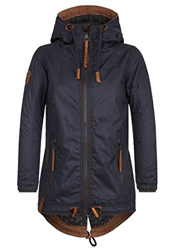 Naketano Damen Jacke Kokosnuss Dreams Jacke, XS, Dark Blue