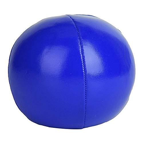 Alomejor Bola De Malabarismo 3 Piezas Juego De Bolas De Malabarismo Profesional De Payaso con Bolsa De Viaje(Blue)