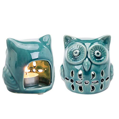 Owl Tea Light Holder Set of 2