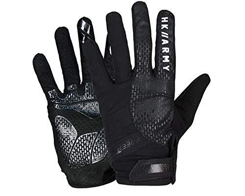 HK Army Paintball Handschuhe Freeline Gloves Vollfinger Stealth schwarz, Größe:XL