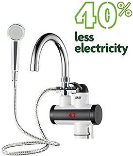 EuroQuality Instantánea Sin Tanque Calentador Eléctrico de Agua Caliente Grifo de la Cocina de Calentamiento Instantáneo Grifo (Con ducha)