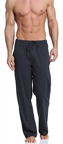 Cornette Pantalones de Pijama Hombre CR-691(Grafito, L