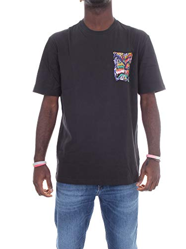 adidas GN2340 ADV MUNCHMAN T T-Shirt Uomo Black M