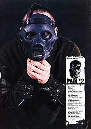 Desconocido Slipknot Paul Gray 2 Póster Foto Iowa Máscara ...