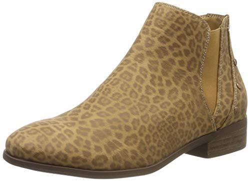 Roxy (ROY11) Yates-Ankle Boots for Women, Botines Femme, (Cheetah Print Che), 39 EU