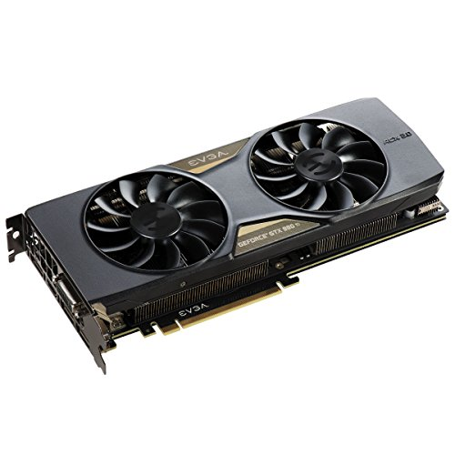 EVGA 06G-P4-4995-KR Ti Superclocked ACX 2.0+ NVIDIA GTX 980 Grafikkarte (16x PCI-e 3.0, 6GB GDDR5 Speicher, DVI, HDMI, 3X Display Port)
