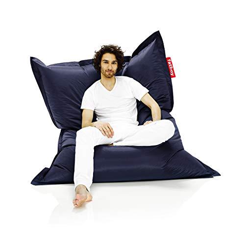 Fatboy Original Sitzsack Blue, Nylon, 40 x 140 x 180 cm (LxBxH)