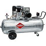 Airpress® oelgeschmierter pressione compressore d' aria GK 600–200(3KW, 10Bar, 200l bollitore, 400Volt) Grande Pistone di compressore