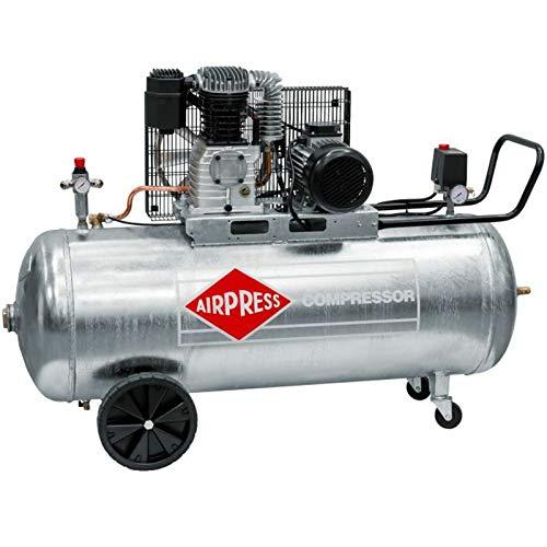 BRSF33® ölgeschmierter Compresor De Aire Comprimido GK 600–200(3KW, 10bar, 200L Caldera, 400V) Gran pistón de Compresor