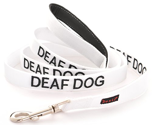 DEAF DOG Dexil Friendly Dog Collars Color Coded Dog Accident Prevention Leash 4ft/1.2m Prevents Dog Accidents By Letting Others Know Your Dog In Advance Award Winning