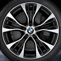 Cerchi in lega posteriore BMW X5 F15 M raggi, per modelli 599 taglia M 53,34 (21') cm