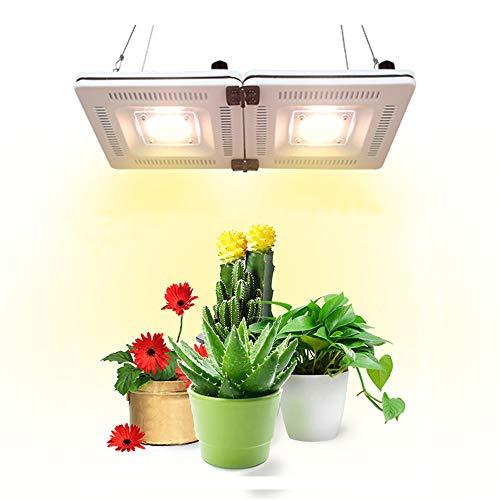 Lámpara de Planta, PDGROW Cultivo Luces Espectro Completo IP67 Lámpara de Cultivo Impermeable 600w CFL & HPS Equivalente Led Crecer Luz para Plantas de Interior, Invernadero, Hidroponía