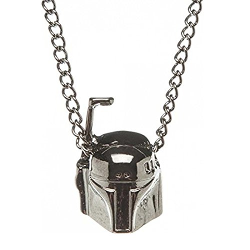 Boba Fett 3D Necklace, star wars necklace, star wars necklaces