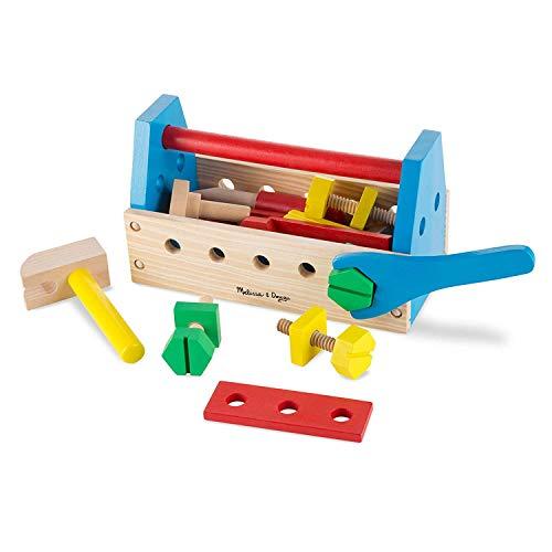 Melissa & Doug Take-Along Tool Kit | Pretend Play | Play Set | 3+ | Gift for Boy or Girl