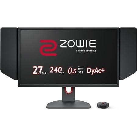 BenQ ZOWIE ゲーミングモニター XL2746K(TN/FullHD/27型/240Hz/1ms/XL Setting to Share/DyAc+/Black eQualizer/FreeSync/Color Vibrance/らくらく高さ調整)