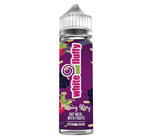 """Longfill Liquid Aroma - White and Fluffy® Morning Glory""""OAT MEAL WITH FRUITS"""" - PREMIUM Aroma Liquid ohne Nikotin • 60ml / 10ml Longfill nikotinfrei - Test-Note 1,2"""