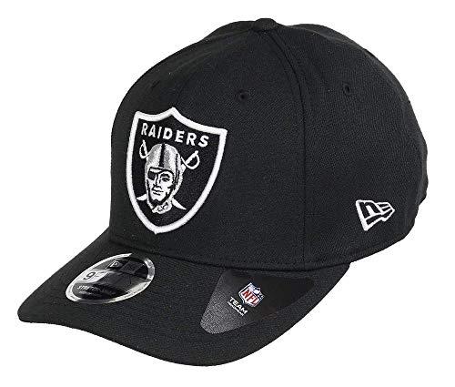 New Era 9Fifty Stretch Snap Oakland Raiders Cap, S/M, Black