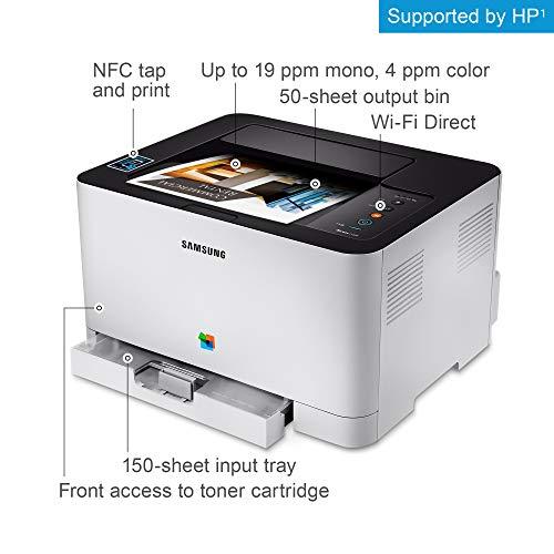 Samsung SL-C430W Color 2400 x 600 dpi A4 WiFi - Impresora láser (Laser, Color, 2400 x 600 dpi, A4, 150 Hojas, 18 ppm)
