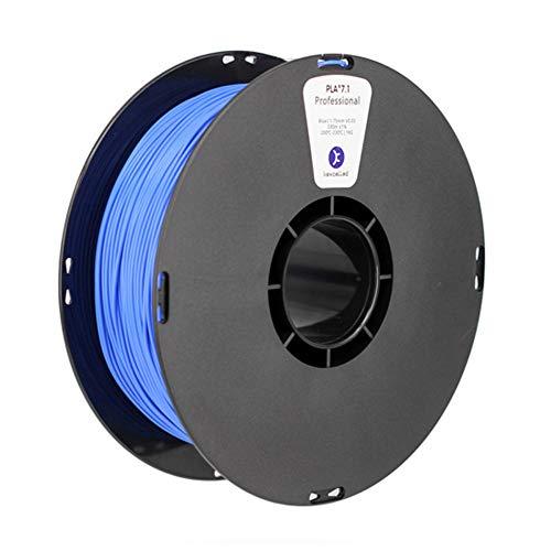 3D-Druckfilament 1 kg, PLA K6 3D-Filament, hohe Schlagfestigkeit, hohe Festigkeit, modifiziertes Material mit hoher Zähigkeit-Blau_1,75 mm