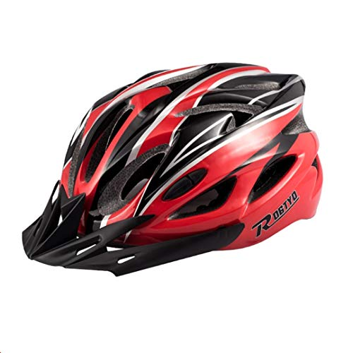 Adult MTB Fahrradhelm Mountain Road Safety Fahrradhelm mit Abnehmbarer Magnetbrille Fahrradhelm Liner abnehmbar