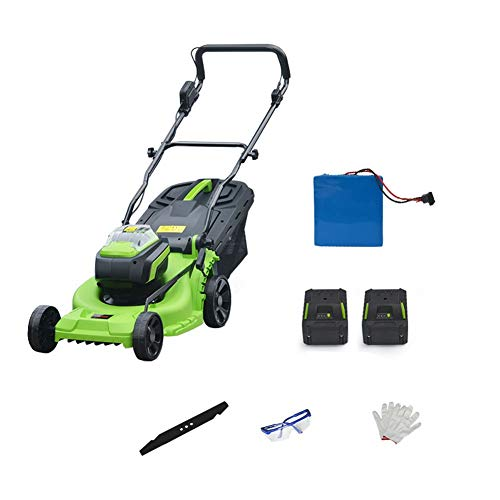 3800R Electric Rotary Lawn Mower - 37 cm Cutting Width, 40 Litre Grass Box, Manual Height Adjust, Comfortable to Manoeuvre, Foldable Handles,Space Saving Storage Features Lightweight