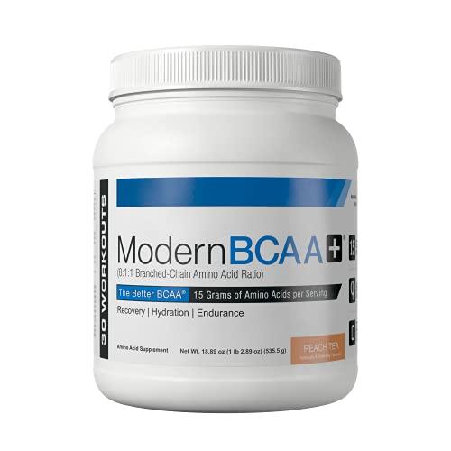 Modern Sports Nutrition BCAA+, Peach Tea, 535 g