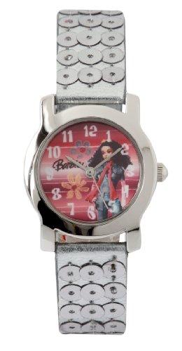 Barbie Mädchen-Armbanduhr Analog Quarz Plastik B581
