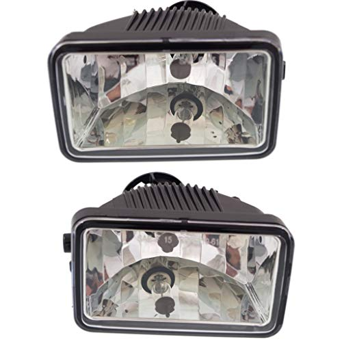For Ford F-150 Fog Light Assembly 2015 2016 2017 2018 Pair Driver and Passenger Side CAPA Certified For FO2592235 + FO2593235