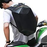 Motorcycle Backpack Waterproof Hard Shell Men Backpack Carbon Fiber hardshell