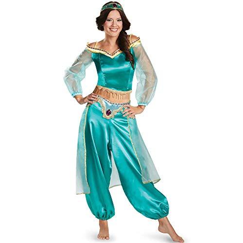 MAIMOMO Damen-Reizwäsche Unterwäschehalloween Costume_Game Uniform Halloween Kostüm Charakter Sexy Aladdin Göttin Licht, Bild Farbe, M
