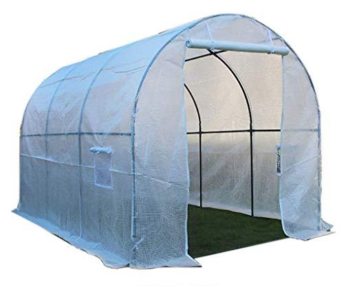 Invernadero jardín plantando cobertizo portátil al aire libre patio patio caminar cúbito de PE marco de metal for frutas, verduras, plantas y flores (Size : 600 * 200 * 200cm)