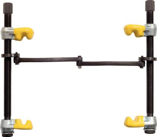 KS Tools 670.0031 Federspanner mit Sicherheitsbügel, kunststoffbeschichteten Haken, 240mm