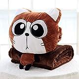 YOMDYSW Warmes Handkissen- Spielzeug Puppe Cartoon Tier Decke Hand Warm Kissen Kissen Baby Geburtstagsgeschenk Weihnachten