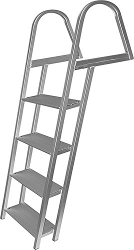 7 Step Ladder, Aluminum, Mounting Hardware Included - Jif Marine