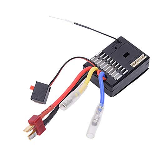 DyAn Accesorios De Reemplazo del Tablero del Receptor De Coche RC Fit para WLTOYS 144001 1/14, 4WD Car
