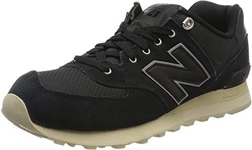 New Balance 574, Zapatillas Hombre, Negro (Black), 43 EU