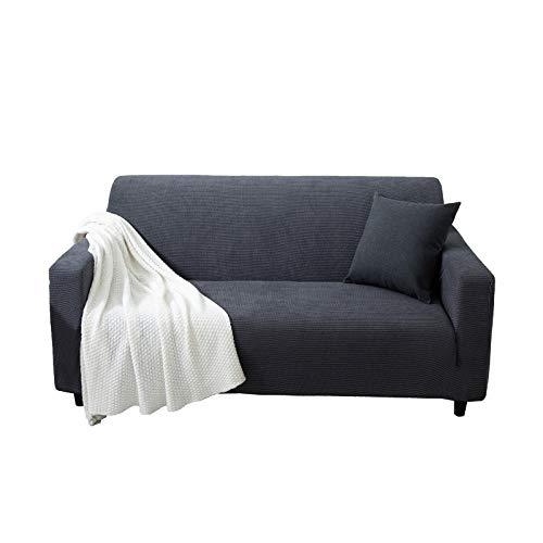 B/H Lavable/Antiácaros Funda de sofá,Funda de sofá Gruesa de Granos de maíz, Funda de sofá elástica Antideslizante-A_90-140cm,Sillón Elastano Fundas de Sofá