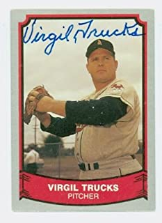 Virgil Trucks AUTOGRAPH d.13 1988-89 Pacific Legends