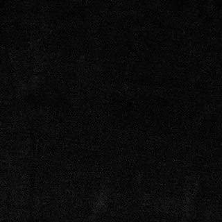 TELIO Organic Cotton Jersey Knit Black Fabric by The Yard
