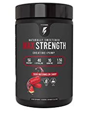 Supercharge Your Workout Improve Nitrogen Retention & ATP Activation Enhanced Strength and Recovery All Natural Ingredients Great Tasting Flavors