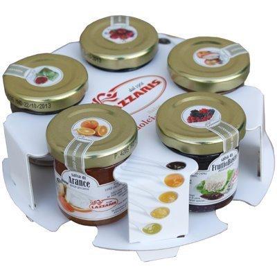 Ital. Frucht-Senf-Saucen Set 5 x 50g Waldfrucht Birne Feige Orange Kirsche