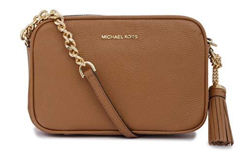 Michael Kors Leather Damen Cross Body Bag Beige