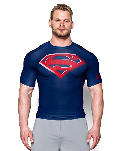 Alter Ego Superman Logo Compression S/S T-Shirt - size S