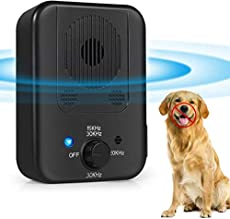Bark Control Device, Upgraded Rechargeable Mini Anti Barking Device, Outdoor Anti Barking Ultrasonic Dog Bark Deterrent with 3 Ultrasonic Frequency Levels, Sonic Bark Deterrents Silencer for Outdoors
