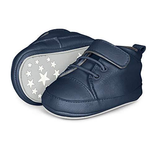 Sterntaler Jungen Baby-Schuh Sneaker, Blau (Marine 2301623), 21/22 EU