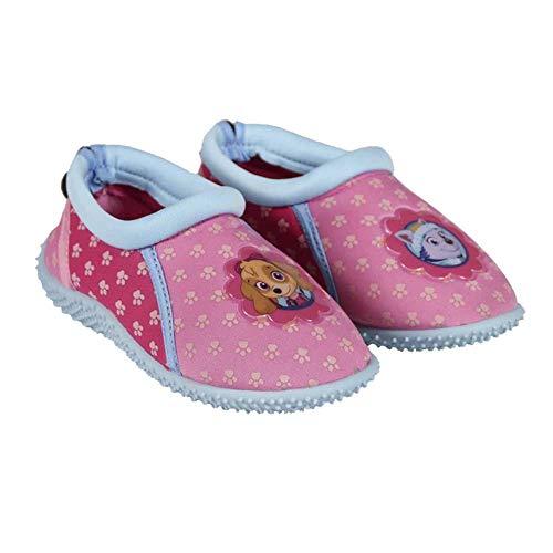 Pat' Patrouille Chaussures Aquatiques Protègent Les Pieds des Enfants - Cordon de Serrage Ajustable à l'arrière pour Un Meilleur Maintien (29 EU)