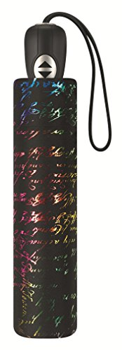 Pierre Cardin Taschenschirm Damen Easymatic light - Manuscrit metallique