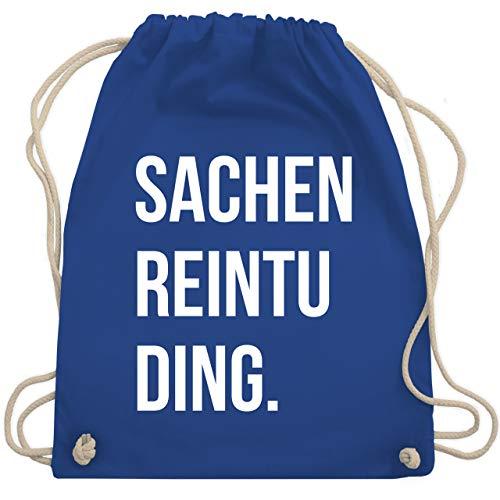 Shirtracer Festival Turnbeutel - Sachenreintuding - Unisize - Royalblau - sachen reintuding - WM110 - Turnbeutel und Stoffbeutel aus Baumwolle