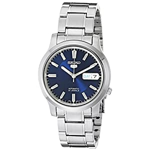 Fashion Shopping Seiko 5 Men's SNK793 Automatic Stainless Steel Watch with Blue Dial